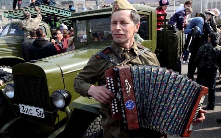 Rosja: Wojskowe defilady odbyły się w 24 rosyjskich miastach