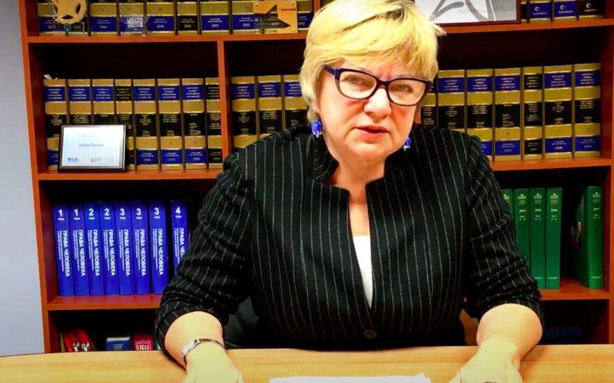 Член президиума КС Лилия Власова освобождена из СИЗО КГБ