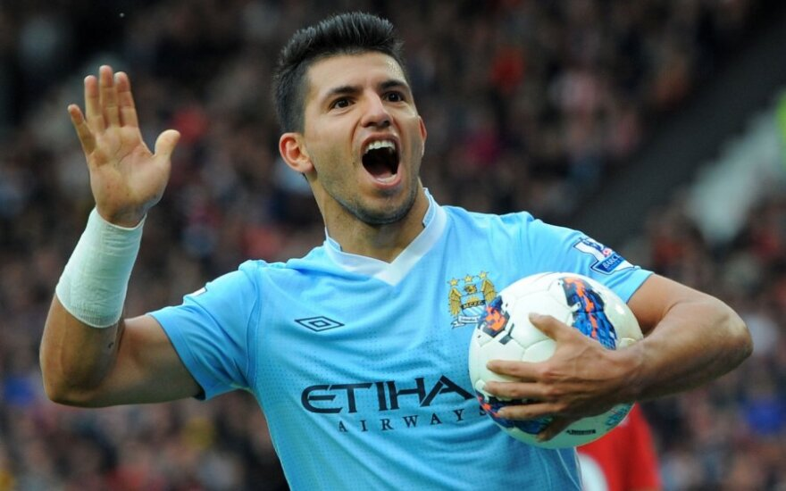 "Sergio Aguero (""Man City"")"