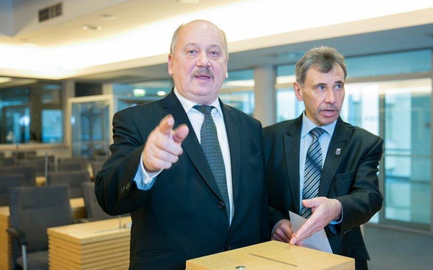 Michal Mackevič ir Zbignev Jedinskij