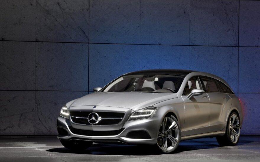 Семейство Mercedes-Benz CLS-класса пополнится универсалом