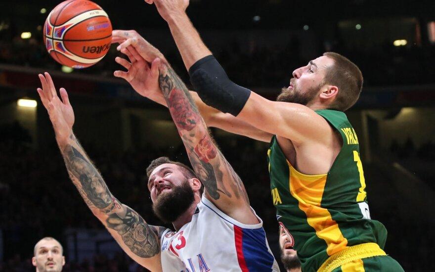 Europos krepšinio čempionatas 2015. Serbija - Lietuva