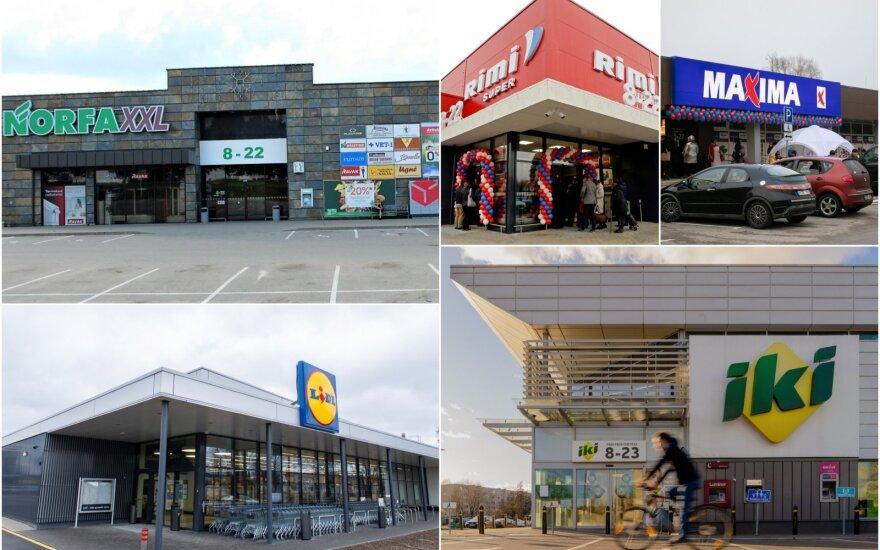Крупные торговые сети в Литве не будут работать в пасхальное воскресенье