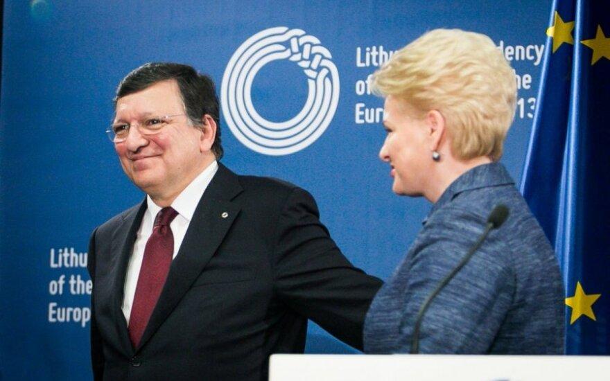 Jose Manuelis Barroso ir Dalia Grybauskaitė