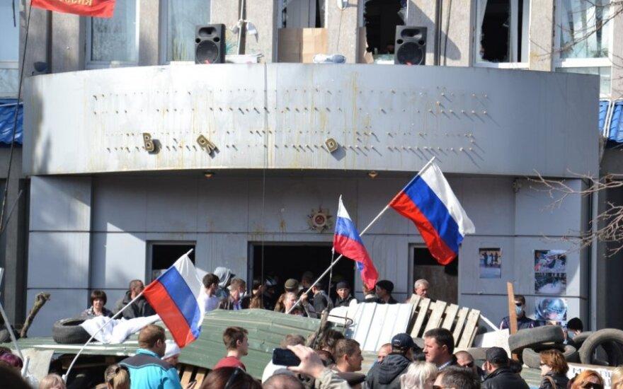 Преподаватель из Харькова – Delfi: не понимаю, что за вояки и бездельники штурмуют администрацию