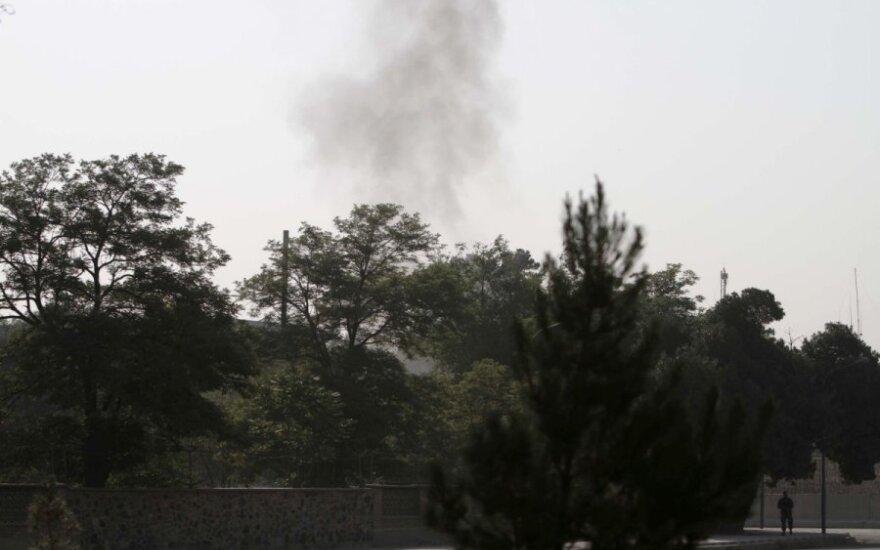 В Кабуле боевики атаковали президентский дворец Хамида Карзая