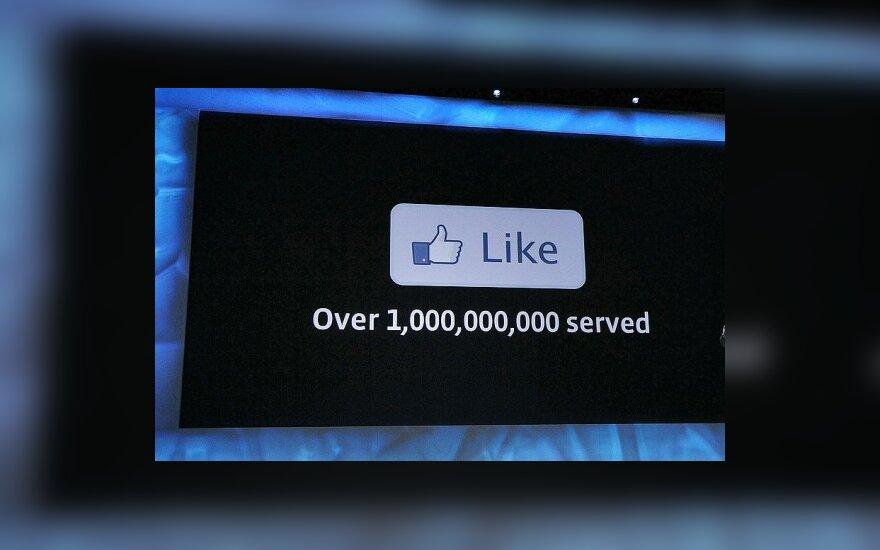"""Socialinio tinklo """"Facebook"""""""