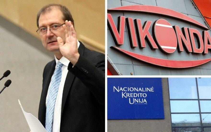 12 млн. литов из скандальной кредитной унии перешли к сыну Успасских