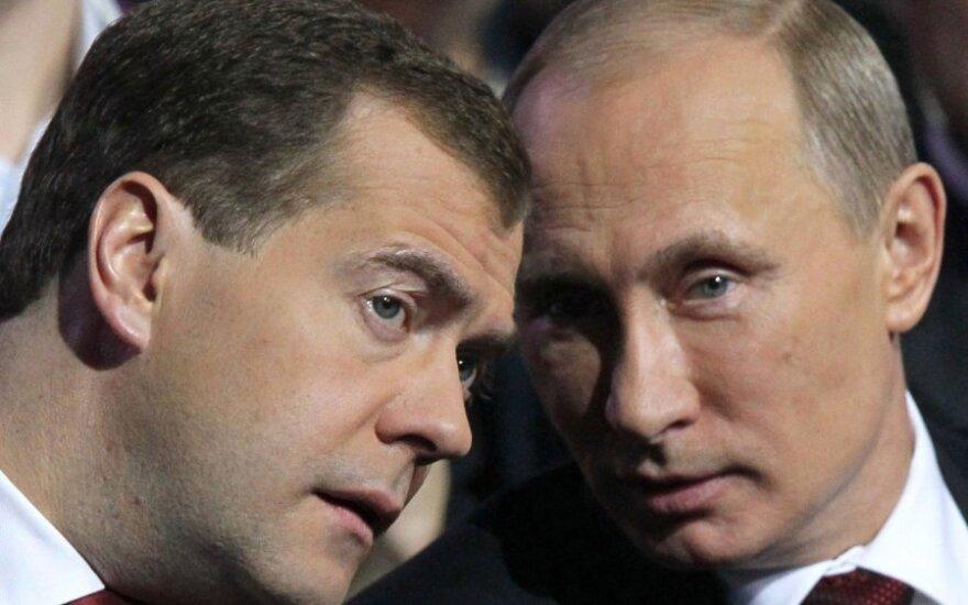 Правительство Медведева получило первый разнос от Путина