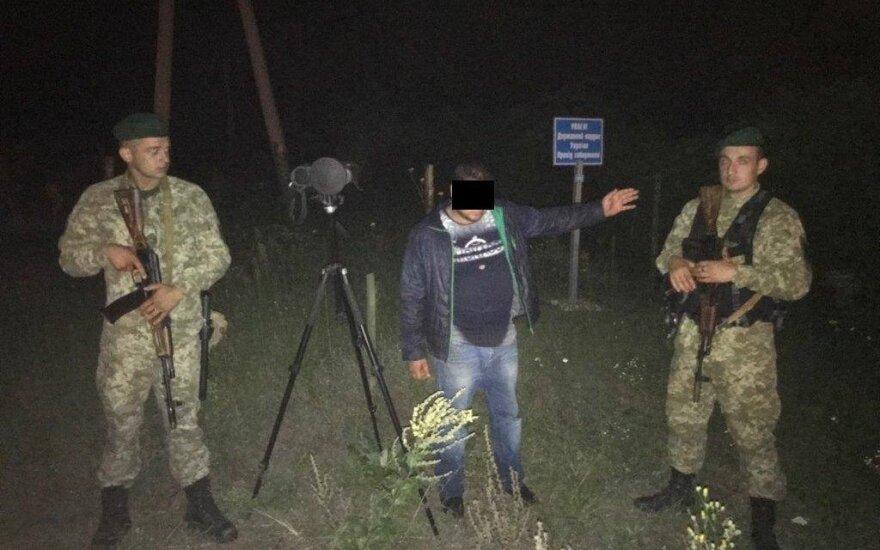 В Украине на границе с РФ поймали россиянина