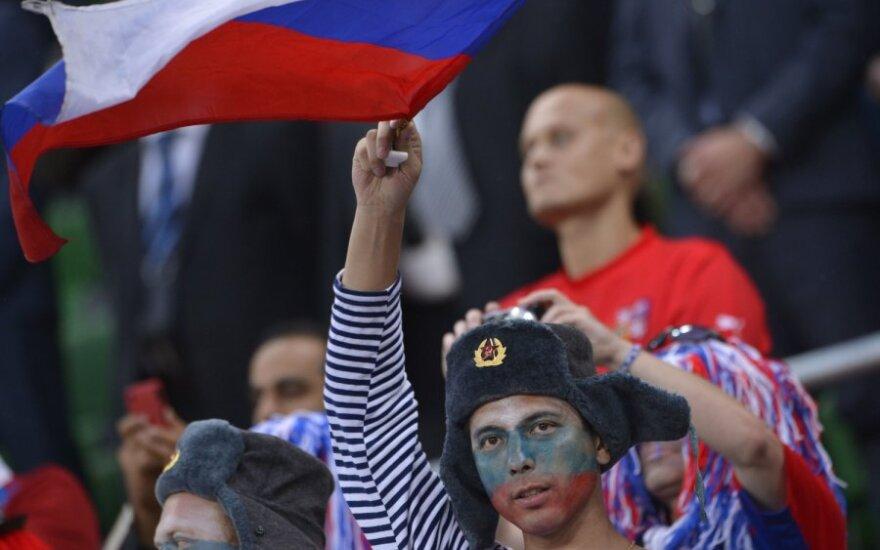 Rusijos rinktinės sirgaliai