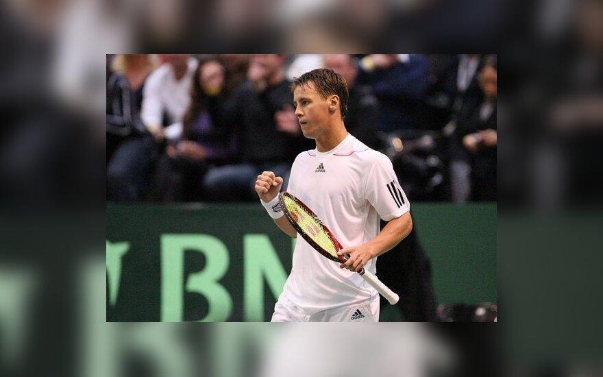 Беранкис стал победителем теннисного турнира в Хельсинки