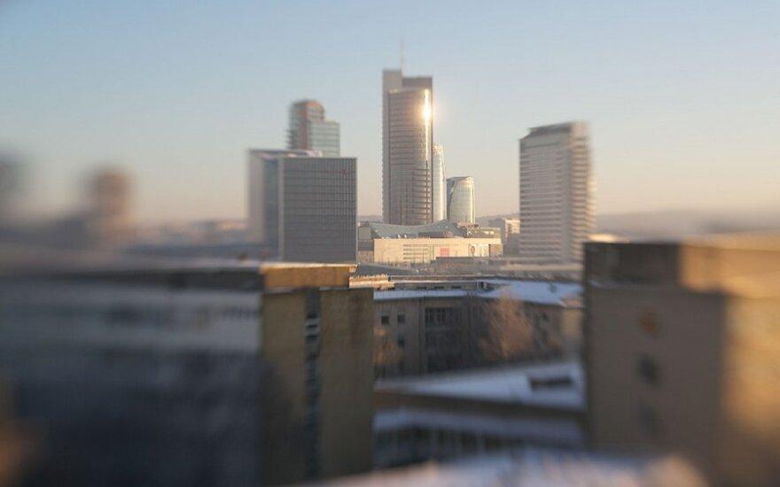 Orų galerija: žiema Vilniuje