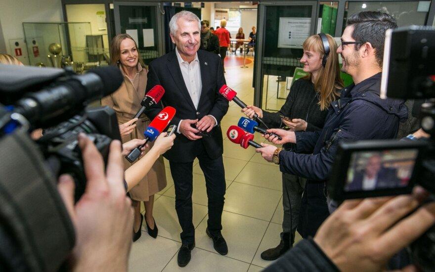 Ушацкас сказал, что ДГБ Литвы запугивал членов его команды во время предвыборной кампании