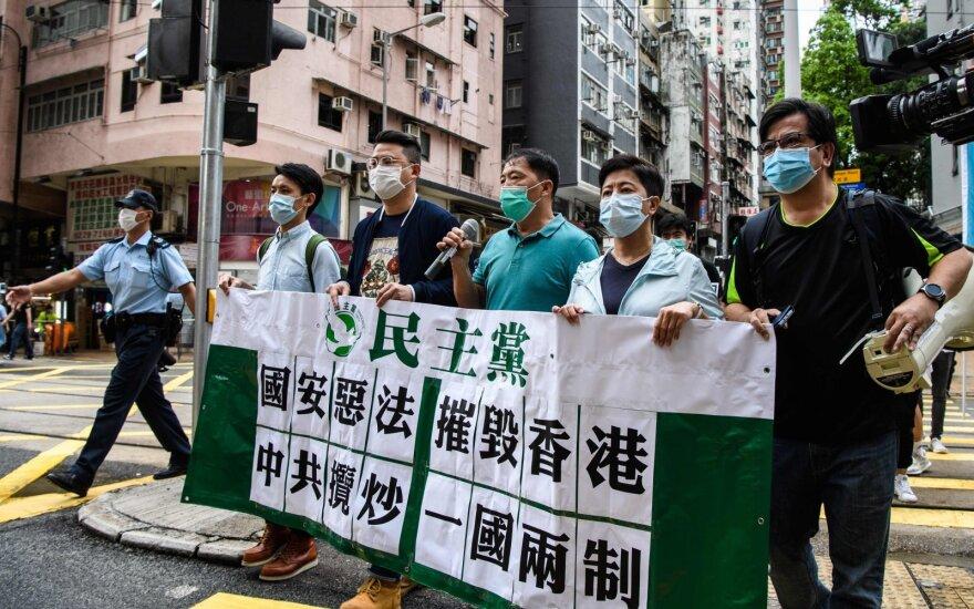 Honkonge kilo pasipiktinimo banga, Kinijai bandant prastumti saugumo įstatymą