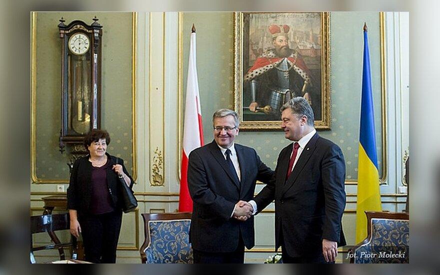 B. Komorowski i P. Poroszenko. Foto: prezydent.pl