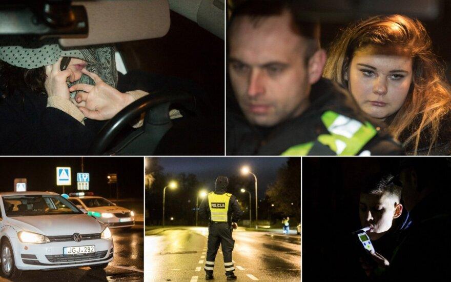 Ночь в столице: несовершеннолетний без прав и нетрезвые водители