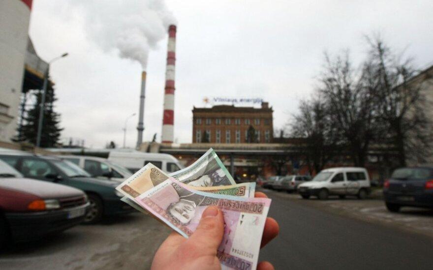 Стало известно, сколько вильнюсцы будут платить за отопление в ноябре