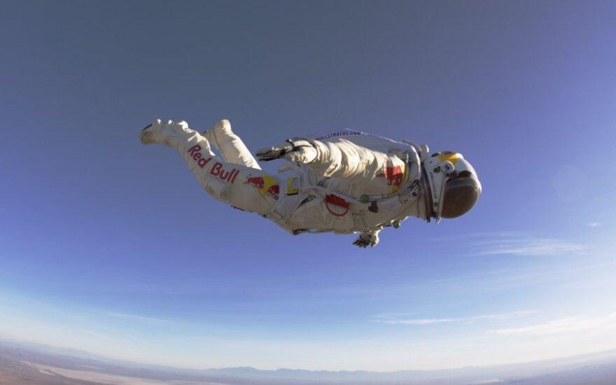 USA: Spadochroniarz zamierza pokonać prędkość dźwięku