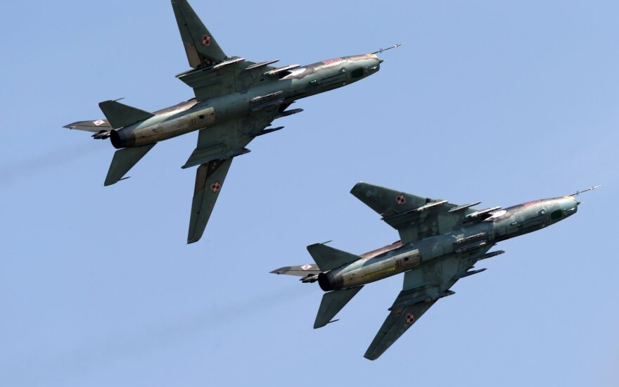 Su-22 naikintuvai