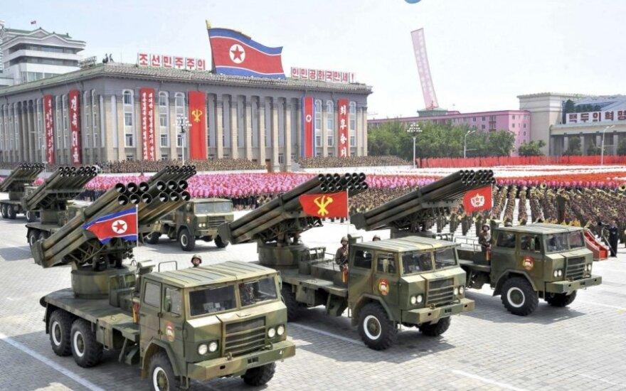 Китай запретил экспорт элементов вооружений в КНДР