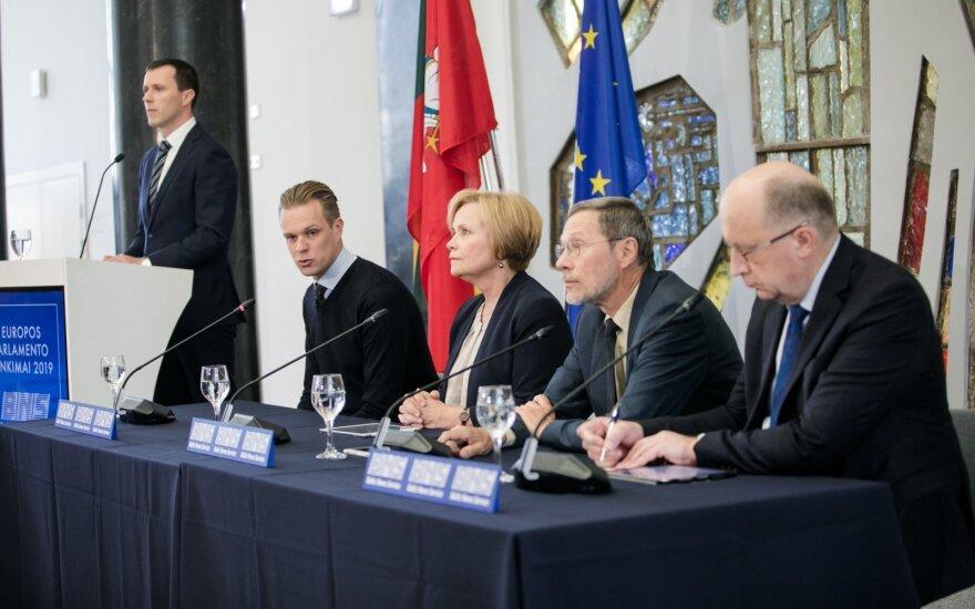 Избранные в Европарламент нового созыва представители Литвы распределятся по пяти фракциям