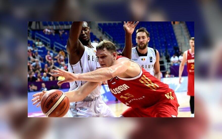 Евробаскет: сборная России одержала третью победу и продолжает лидировать