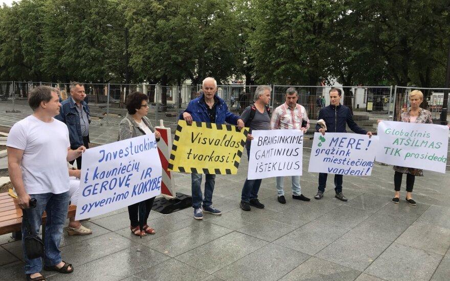 Жители Каунаса выразили недовольство из-за нехватки воды: досталось и мэру города