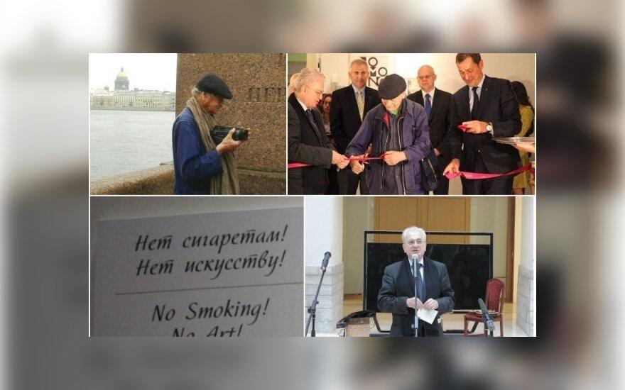 Йонас Мекас в Петербурге: это человечество жестоко, а не флюксус