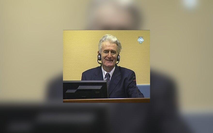 Караджич снова не появился в трибунале