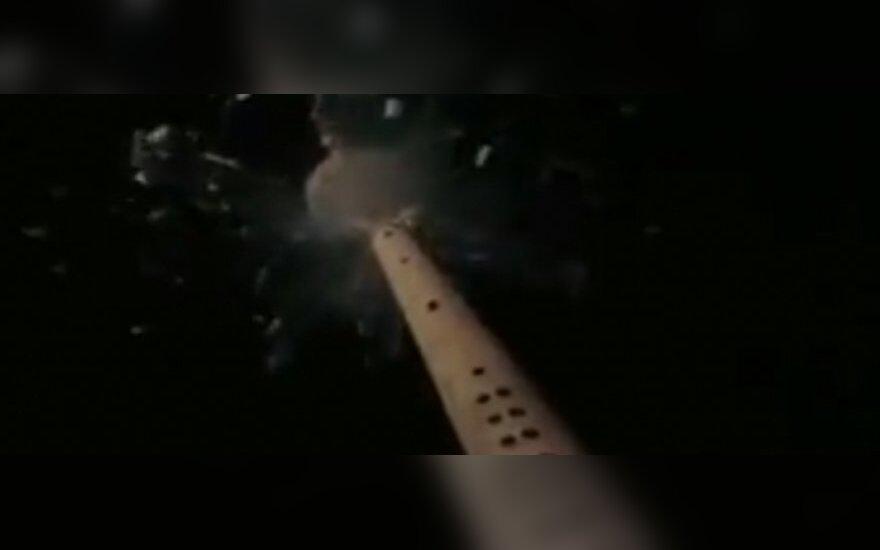 Wybuch Wieży Telewizyjnej w Wilnie