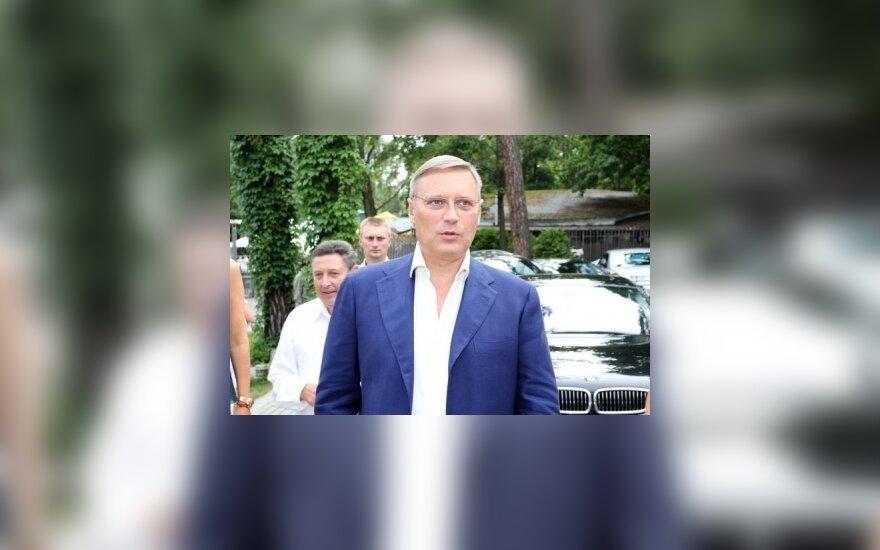 Михаил Касьянов в Юрмале