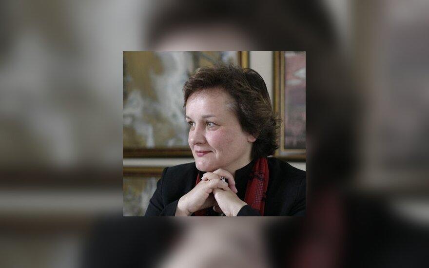 Л.Андрикене поздравила белорусов с Днем воли
