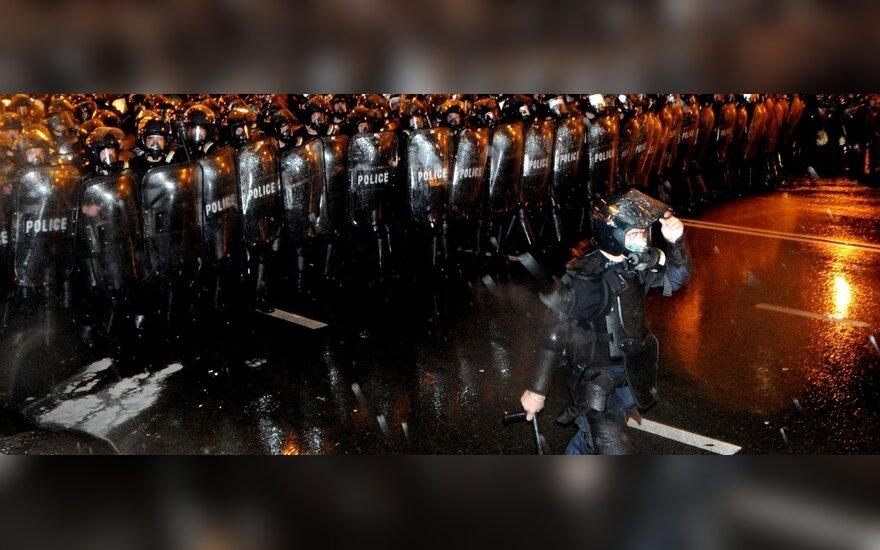 Protesto akcijos Gruzijoje