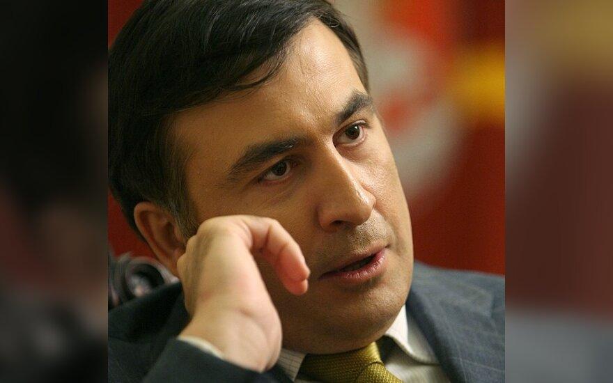 В Крыму студенты сожгли чучело Саакашвили