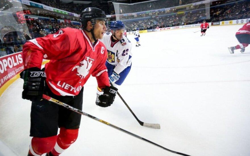 Хоккей: сборная Литвы уверенно обыграла румынскую команду