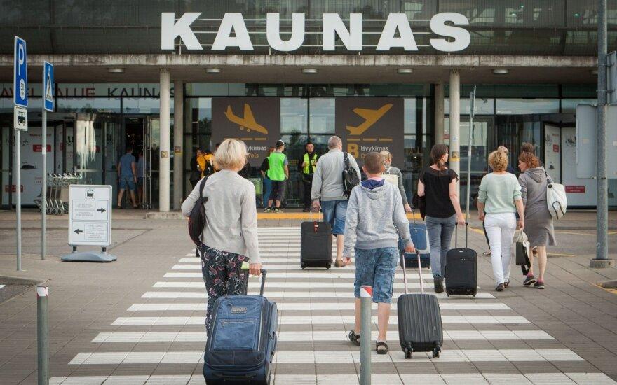 Каунасский аэропорт: обслуживание на высоте, но туристов меньше