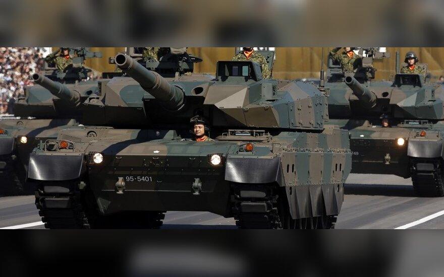 Минобороны Японии намерено сократить наполовину число танков