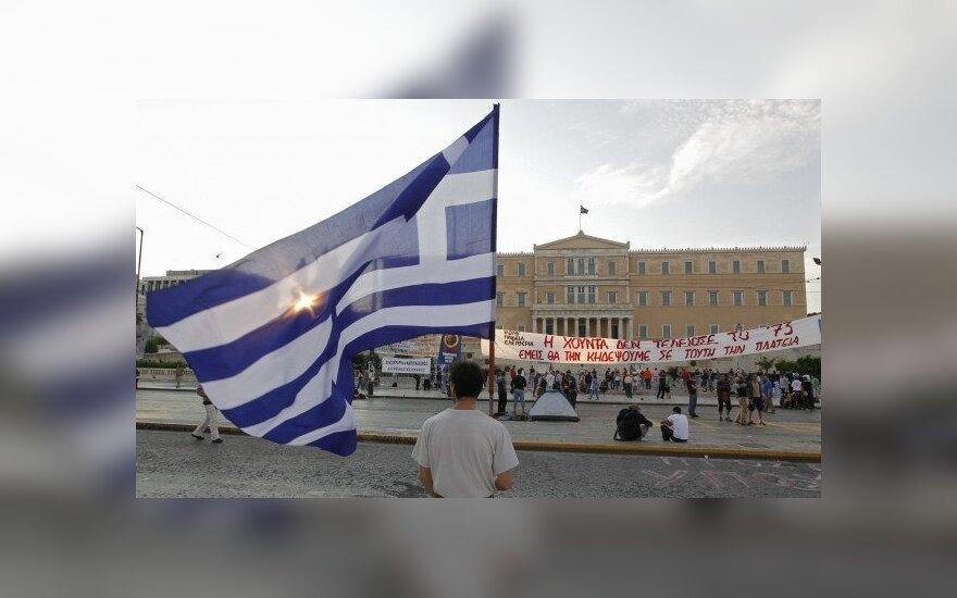 Graikijoje – visuotinis streikas