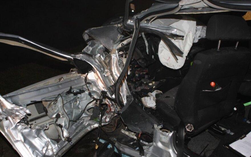 В ДТП в Тракайском районе погибли двое мужчин