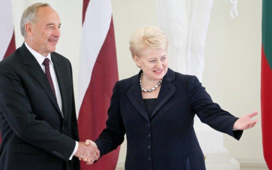 Lietuvos ir Latvijos prezidentų susitikimas