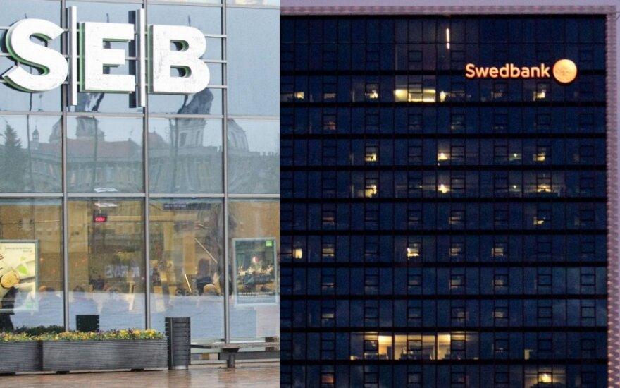 Swedbank ir Seb bankas