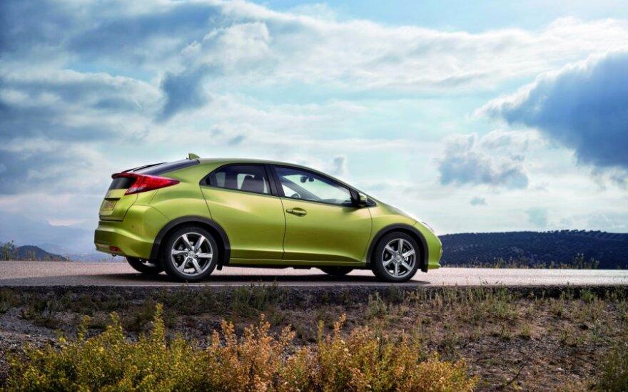 Газовый Honda Civic признали самым экологичным автомобилем года