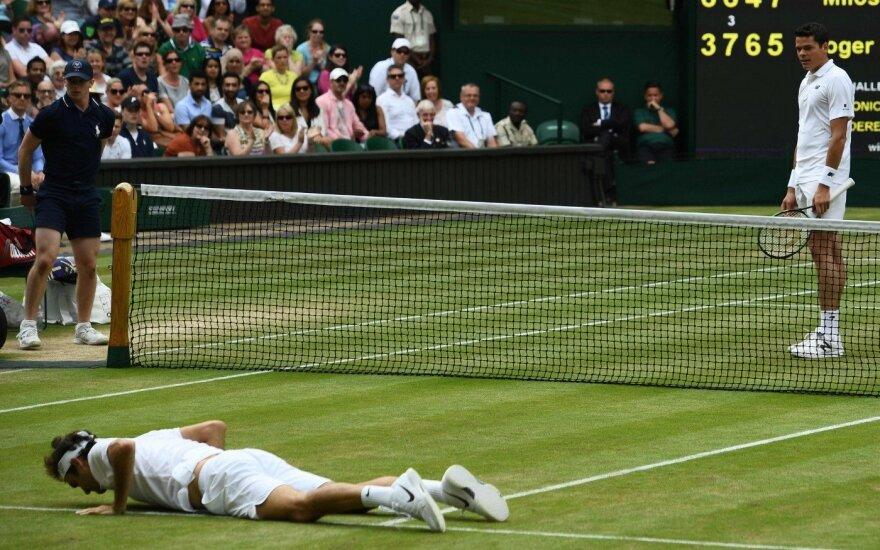 """Раонич разбил мечту Федерера стать восьмикратным чемпионом """"Уимблдона"""""""