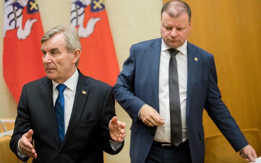 Viktoras Pranckietis, Saulius Skvernelis