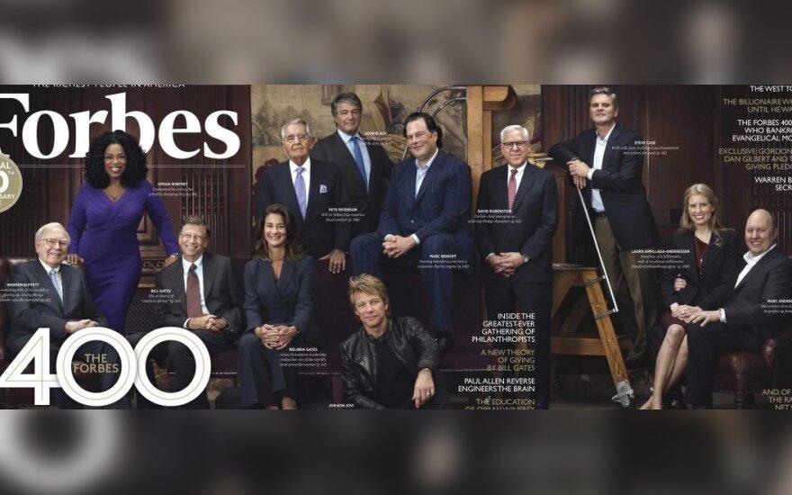 """""""Forbes"""" įtakingiausi verslininkai"""