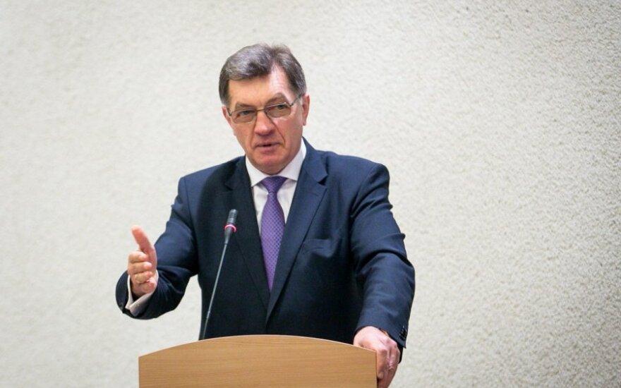 Algirdas Butkevičius, Chairman of the Social Democrat party of Lithuania