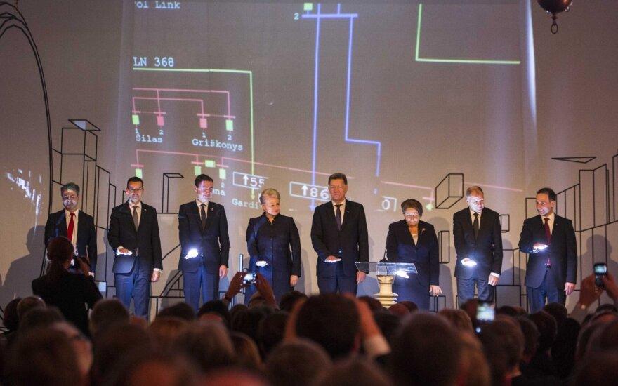 Dalia Grybauskaitė: Łącza energetyczne z Polską i Szwecją wzmacniają stabilność i solidarność