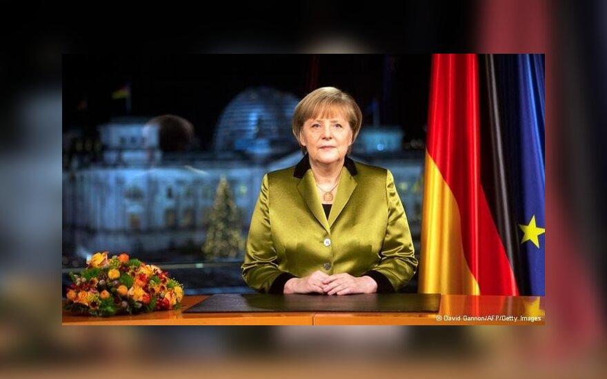 Канцлер ФРГ призвала сограждан к действиям