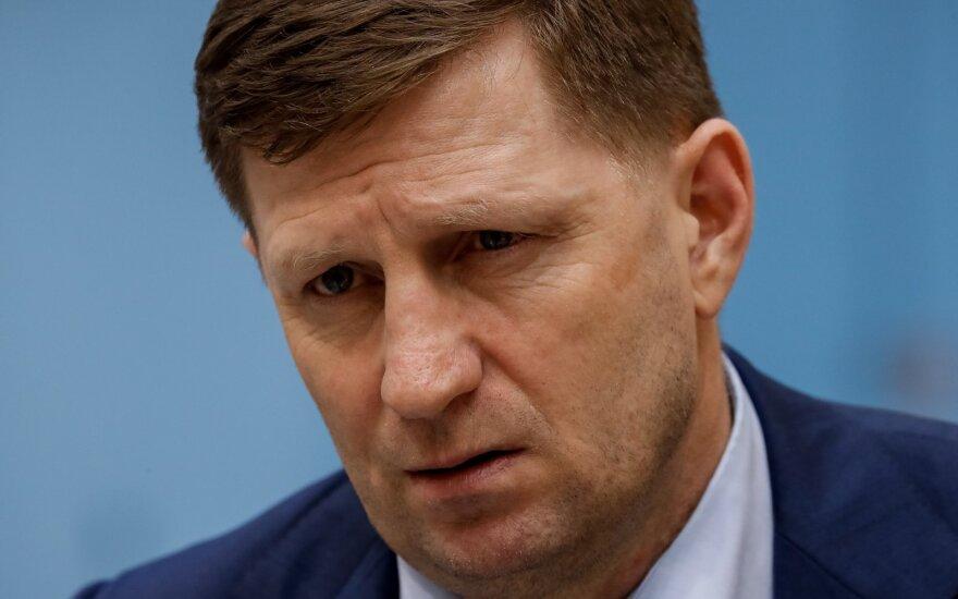Хабаровский губернатор задержан по подозрению в организации убийств бизнесменов